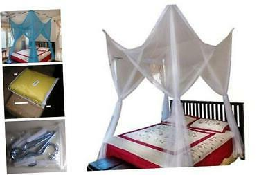 octorose 4 poster bed canopy netting functional