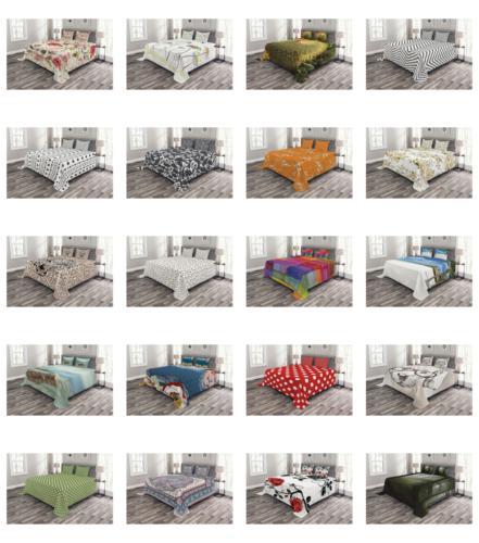 Ambesonne Bedspread Set Bedroom Coverlet