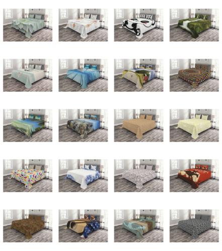 quilted bedspread set bedroom decor printed coverlet