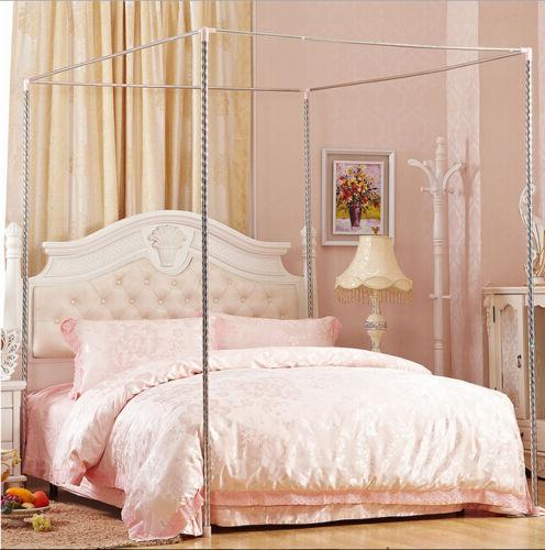 Pink Mosquito Netting Or Frame Full King