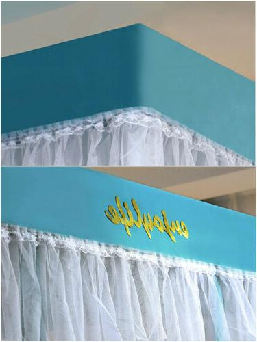summer accessories mosquito frames dust proof bed canopy