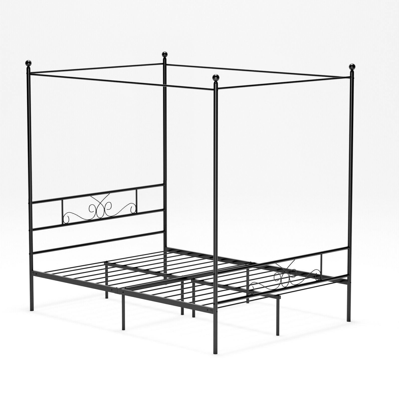 Twin 4 Metal Bed Platform Girls