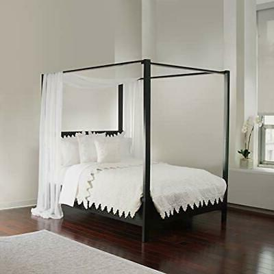 white sheer sizes bed canopy scarf home