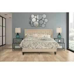 Hillsdale Furniture La Croix Full Bed, Linen Fabric - 2132-4