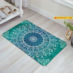 Libaoge Mandala Medallion Pattern Design Doormat Welcome Mat
