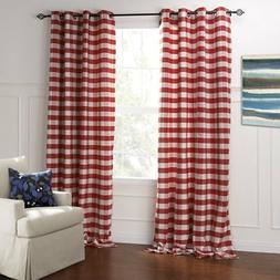 IYUEGO Modern Classic Red And White Plaid Jacquard Eco-frien