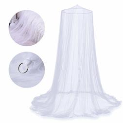 Mosquito Net Bed Queen Home Bedding Lace Canopy Elegant Nett