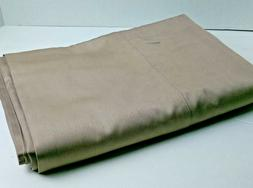 NWOT UNDER THE CANOPY TWIN SIZE SHEET CAPPUCCINO COLOR100% O
