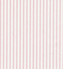 Pink Ticking Stripe Fabric BY THE YARD NEW! Pillows, Bedding