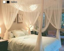 queen king size home 4corner post bed