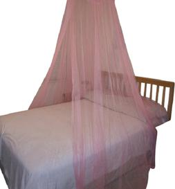 OctoRose® hoop functional bed canopy mosquito net fit all s