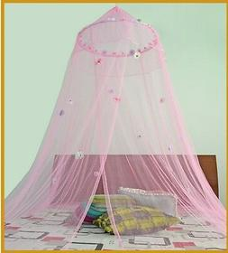 *Round Hoop* with Daisies Bed Canopy Mosquito Net for Crib T