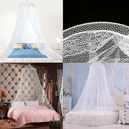 Round Lace Insect Bed Canopy Netting Curtain Dome Mosquito B