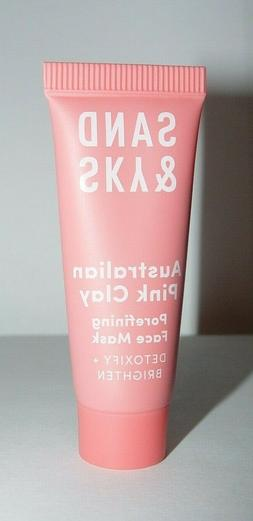 Sand and Sky Australian Pink Clay Mask Porefining 13g Sealed