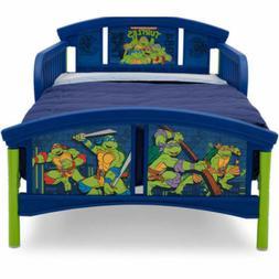 Nickelodeon Teenage Mutant Ninja Turtles Plastic Toddler Bed