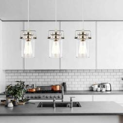 Light Society Topeka Mini-Pendant Stain Nickel Fully Dimmabl