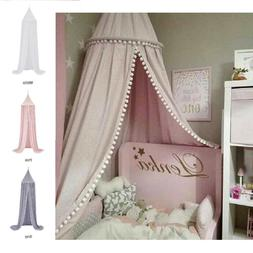 Unisex Baby Child Bed Cotton Modern Stylish Canopy Tent in P