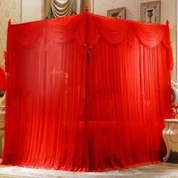 Wedding bed decoration Mosquito net & frame bed netting Bed