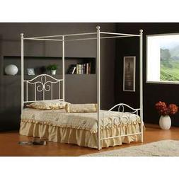 Westfield Metal Canopy Bed Set