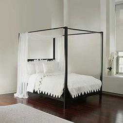 White Sheer, Sizes Bed Canopy Scarf, Home &amp Kitchen
